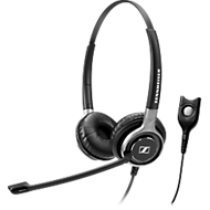 EPOS|Sennheiser Headset IMPACT SC 660, binaural, Easy Disconnect, Ultra Noise Cancelling Microfoon, incl. draagtas