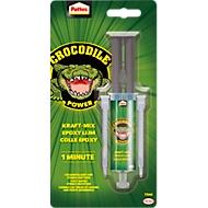 Epoxid-Klebstoff Pattex Crocodile Power Kraft Mix, Innen/Außen, Stoß- & Schlagfest, überstreichbar