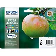 Epson 4 Tintenpatronen T12954010 cyan, magenta, gelb, schwarz, original