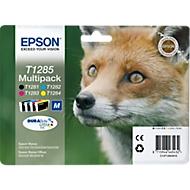 EPSON Cartouches d'encre T12854010, set de 4 couleurs : cyan, magenta, jaune, noir