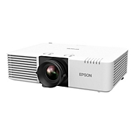 Epson EB-L610U - 3-LCD-Projektor - 802.11n drahtlos / LAN / Miracast - weiß