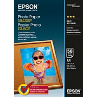 EPSON Fotopapier Photo Paper Glossy, DIN A4, 50 Blatt