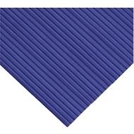 Ergonomische loper, Op maat te snijden, 600 mm breed, blauw