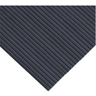 Ergonomischer Läufer, Zuschnitt, 800 mm breit, schwarz