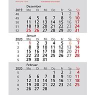 Ersatzkalendarium, für Tischkalender Elegance, deutsches Kalendarium, für 2 Jahre