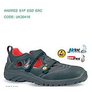 ESD-Sicherheitssandale U-Power Andree, S1P, Alukappe, Größe 38
