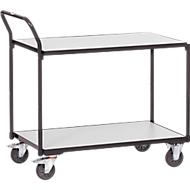 ESD-Tischwagen, 980x520x1020 mm, 2 Böden