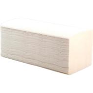 Essuie-mains crêpe, pliage zigzag, 2 épaisseurs, 250 x 230 mm, blanc, 3200 feuilles