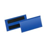 Etiketten- en markeringshoezen B 100 x H 38 mm, 50 st., blauw