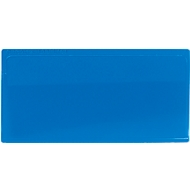 Etikettentasche Label PLUS, magnetisch, 50x110, blau