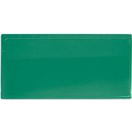 Etikettentasche Label TOP, selbstklebend, 80x160, grün