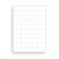 Etiquettes universelles à collage permanent, 52,5 x 29,7 mm, 4000 pièces