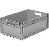 Euro Box Leichtbehälter ELB 6220, aus PP, Inhalt 43,7 L,ohne Deckel, grau