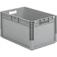 Euro Box Leichtbehälter ELB 6320, aus PP, Inhalt 64 L, ohne Deckel, grau