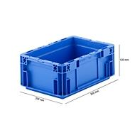 Eurobox serie MF 3120, van PP, inhoud 5,2 l, gesloten handgreep, blauw