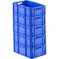 Euronorm bak MF 6220, 41,6 l, 4 + 1 GRATIS, blauw