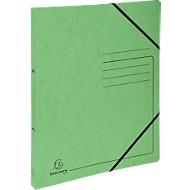 Exacompta Ringbuch, DIN A4, 2 Rund-Ring Mechanik, Rückenbreite 25 mm, grün