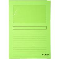 Exacompta Venstermappen Forever®, pak van 100 stuks, groen