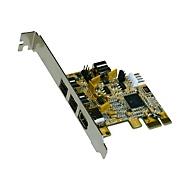 Exsys EX-16415 - FireWire-Adapter - 3 Anschlüsse