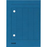 FALKEN Dokumentenmappe, DIN A4, Karton, blau
