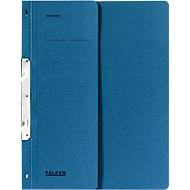 FALKEN Einhakhefter, DIN A4, halber Deckel, 1 Stück, blau