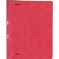 Falken Ösenhefter,  DIN A4, ganzer Deckel, 1 Stück, rot