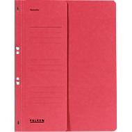 FALKEN Ösenhefter, für DIN-A4, halber Deckel, 1 Stück, rot
