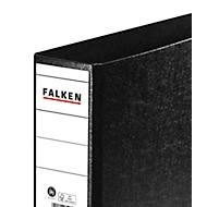 FALKEN ordner, A4 liggend, rugbreedte 80 mm, zwart