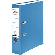 Falken PP color ordner, A4, rugbreedte 80 mm, 20 stuks, lichtblauw
