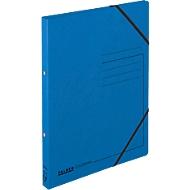 FALKEN Ringbuch, DIN A4, 2 Rund-Ring Mechanik, Rückenbreite 25 mm, blau