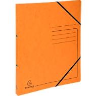 FALKEN Ringbuch, DIN A4, 2 Rund-Ring Mechanik, Rückenbreite 25 mm, orange