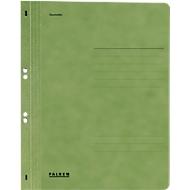 Falken ringhechtmap, A4, volledige kaft, 1 stuk, groen