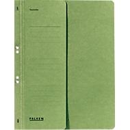 FALKEN ringhechtmap, voor A4, halve kaft, 1 stuk, groen