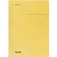FALKEN Schnellhefter, DIN A4, Manila RC-Karton, gelb