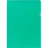 FALKEN Sichthülle, DIN A4, genarbt, 100 Stück, grün