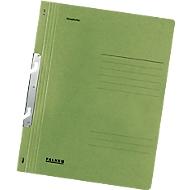 FALKEN snelhechtmap met inhaakbeugel, A4, volledige kaft, 1 stuk, groen