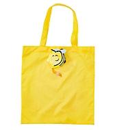 Faltbare Einkaufstasche, Biene, Standard, Auswahl Werbeanbringung optional