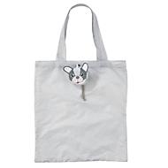 Faltbare Einkaufstasche, Hund, Standard, Auswahl Werbeanbringung optional