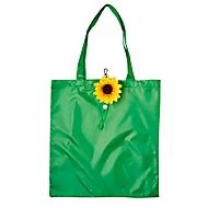 Faltbare Einkaufstasche, Sonnenblume, Standard, Auswahl Werbeanbringung optional