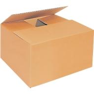Faltkarton aus Wellpappe, 1-wellig, 215 x 155 x 135 mm