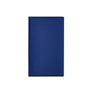 Faltplaner Leporello, 14-fach, B 97 x T 5 x H 160 mm, Werbedruck 70 x 30 mm, blau, Auswahl Werbeanbringung optional