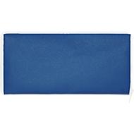 Falttasche, 100 % Polypropylen, mit Reißverschluss, mit Henkeln, royalblau