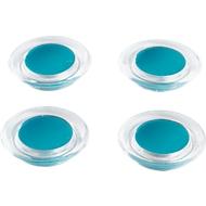 Farb-Design-Magnete, 4 St., blau