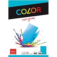 Farbiges Kopierpapier, blau, 100 Blatt