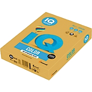 Farbiges Kopierpapier Mondi IQ Color, DIN A4, 80 g/m², altgold, 1 Paket = 500 Blatt