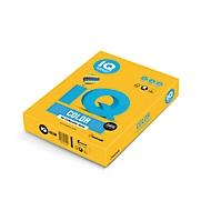 Farbiges Kopierpapier Mondi IQ Color Intensivfarbe, DIN A3, 160 g/m², sonnengelb