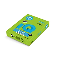 Farbiges Kopierpapier Mondi IQ Color Intensivfarbe, DIN A4, 160 g/m², maigrün, 1 Paket = 250 Blatt