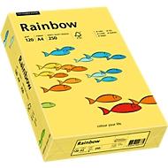 Farbiges Kopierpapier Mondi Rainbow, DIN A4, 120 g/m², gelb, 1 Paket = 250 Blatt
