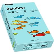 Farbiges Kopierpapier Mondi Rainbow, DIN A4, 120 g/m², mittelblau, 1 Paket = 250 Blatt