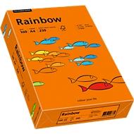 Farbiges Kopierpapier Mondi Rainbow, DIN A4, 160 g/m², intensivorange, 1 Paket = 250 Blatt